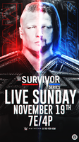 Survivor Series 2017 Custom Poster by LastSurvivorY2J