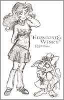 Fashionistas 1 - HP by lberghol
