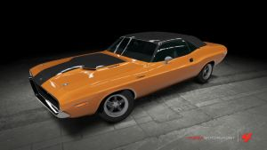 Dodge Challenger R/T - 2 Fast 2 Furious by OutcastOne
