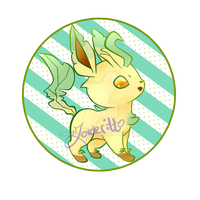 Leafeon by korderitto