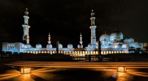 Grand Zayed Mosque by cenevols