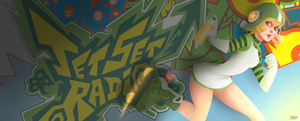Gum Jet Set Radio by TheDody36