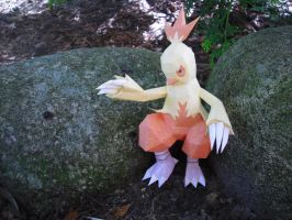 Combusken papercraft by TimBauer92