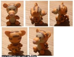 Tigger Charm by Swadloon