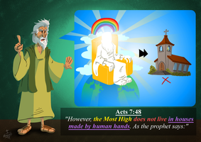 acts 7:48 by alexpixels