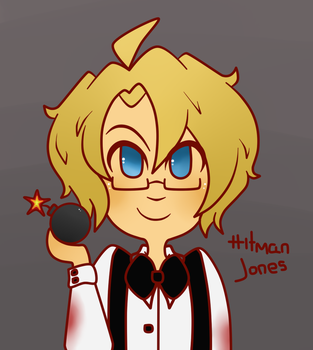 Aph: Hitman Jones by MoreTeaLove