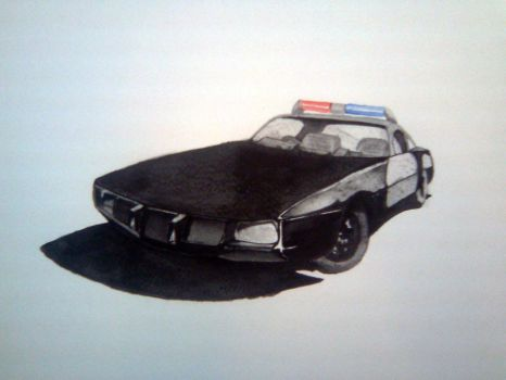 Police force old car z by D-Itachi