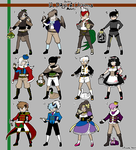 12 Days of Christmas Adopts [CLOSED] by azume-adopts
