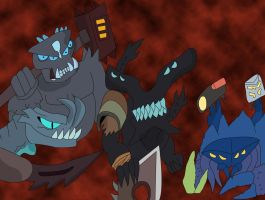 Pacific Warcraft: Warlords of Kaiju by alienhominid2000