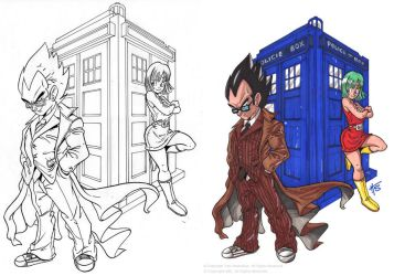 DR WHO PROCESS by Galtharllin