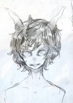 So I drew some homestuck by Costly