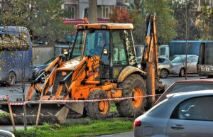 Road works by DenChetto