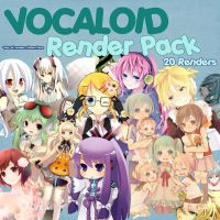 Vocaloid Render Pack by NagiRose