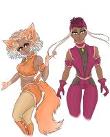 :Mews Apricot and Guava: by BladeKat