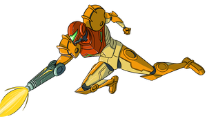 Samus by CoyoteEsquire