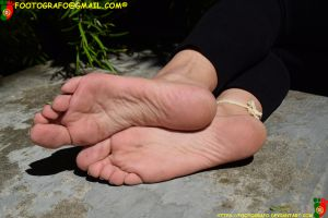 Sunlight On The Soles 2 by Footografo