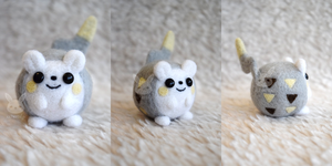 Felted Togedemaru