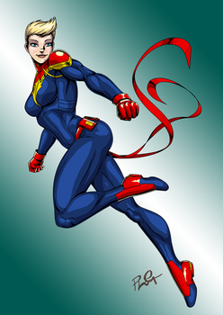 Captain Marvel... as she should be by ashion