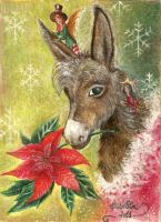 The Christmas Donkey by FiabeSCa
