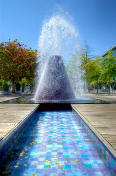 Rockin' The Water Cannon HDR by Lula939