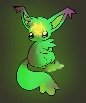 Toxic Sludge: Oogie Adoptable by Fraught-Adopts