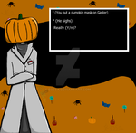 Sorry Gaster, I had to. {HAPPY HALLOWEEN} by Eossa