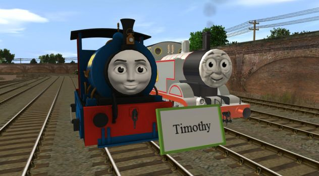 Timothy's Nameboard by EngineNumber14