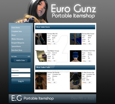 E.G Portable Itemshop by DEV-RB