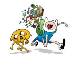 adventure time by NikKarLolzz
