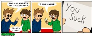 EWcomics No. 53 - Note by eddsworld