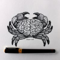 Brainy crab by Hands-hooks