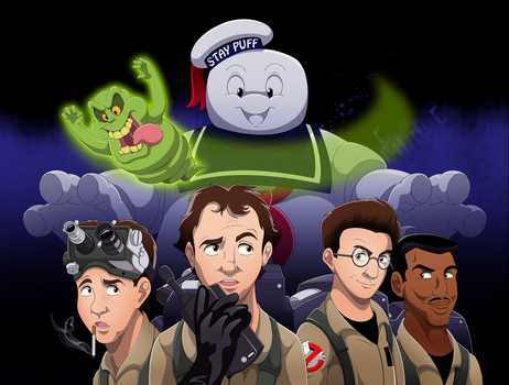 Ghostbusters 30th Anniversary Tribute by BrisbyBraveheart