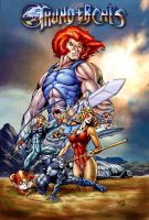 The Thundercats by benyhibridos