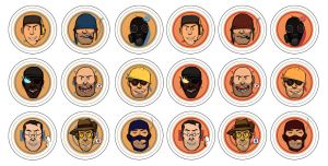 TF2 Buttons by Ryuuji