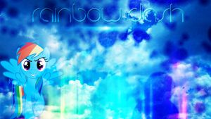 Rainbow Dash Wallpaper by FroyoShark