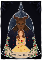 Beauty and the Beast 2017 by Misskitkatmadness
