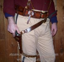 Wide Utility Belt by Steampunked-Out