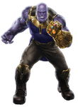 Infinity War Thanos (2) - PNG by Captain-Kingsman16
