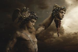 Fall Of Medusa by BenjaminHaley