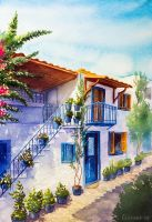A house by AlexGreenArt