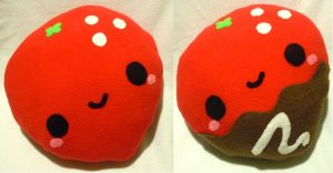 Strawberry Pillows by SugarJerseyJones