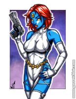 Mystique commission by gb2k
