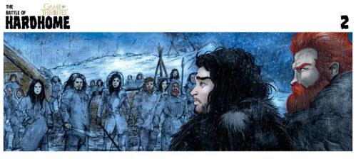 Game of Thrones The Battle of Hardhome.Cuadro 02 by alejanfigueroa