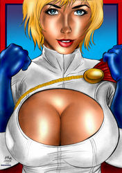Power Girl by Marck Ferreira by winchester01