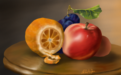 Day 19 - Still Life by bookwormy606
