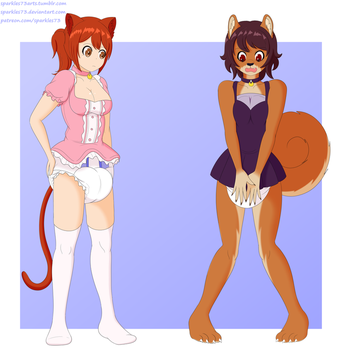 Commission for Bigred and Maddy by sparkles73