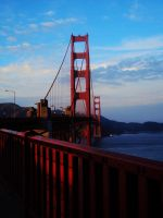 golden gate by k-ee-ran
