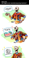 Undertale ask blog: buy locally! by neonUFO