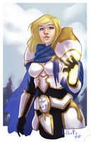 [World of Warcraft] Paladin by lolbatty