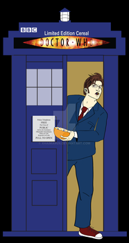 Doctor Who Limited Edition Cereal Poster by xHaimarux